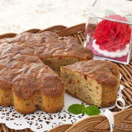 可睡斎様が認めた花のようなケーキのフルーツケーキ&焼き菓子