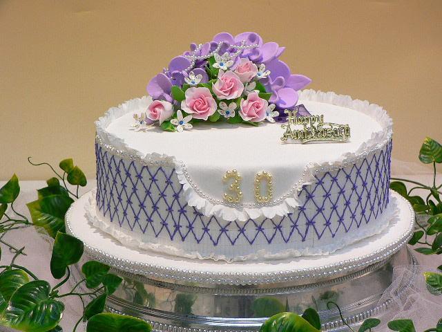 真珠のケーキ