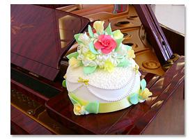 シュガークラフトケーキ『サンプル1』